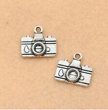 DIY Making 8pcs camera 15x15mm charms Tibetan Silver Pendants Jewelry Findings