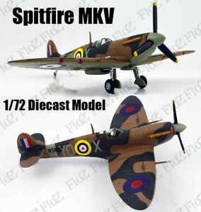 Supermarine Spitfire Mk.V RAF Dunkerque 1/72 diecast plane aircraft model