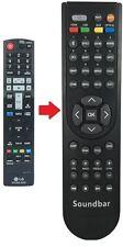 Ersatz LG® Soundbar Fernbedienung passend für | NB2420A - NB3730A |