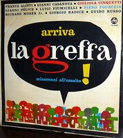 LP RARE ARRIVA LA GREFFA MINORENNI ALL'ASSALTO! CINQUETTI FOCACCIA ITALY 1963