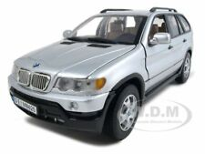 BMW X5 SILVER 1:18 DIECAST MODEL CAR BY MOTORMAX 73105