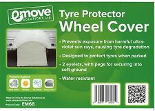 Caravan Wheel Cover - U.V Tyre Protector  X 1 - EM68.