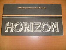 1979 Plymouth Chrysler Horizon Owners Manual very Nice   / f7