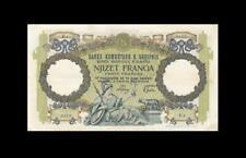 1940 BANCA D'ALBANIA 20 FRANGA ITALY **RARE** (( EF ))