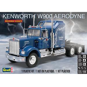 Revel Historic Series Kenworth W900 Aerodyne 1:25 Plastic Model Kit