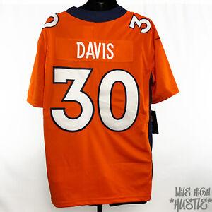 Terrell Davis Men's Size Large Nike NFL Jersey Denver Broncos #30