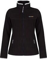 Regatta Floreo Womens Fleece Jacket Black Stylish Zip Through Outdoor Adventure