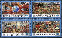 Papua New Guinea 2020 - APEC presidency. Overprint - Set of 4 stamps MNH **