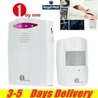 1byone Wireless Motion Sensor Home Alarm Alert Security System Doorbell Chime US
