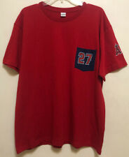 Success Promotions Mens Red Angels #27 Old Dominion Freight Line T-Shirt Size XL
