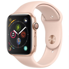 Apple Watch Series 4 40mm - GPS - Gold - Pink Sport Band - EXCESSIVE SCRATCHING