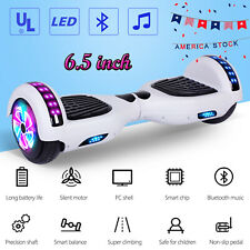 "6.5"" Hoverboard Bluetooth Led Self Balancing Electric Scooter no Bag Ul2272"