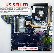 HP DV4-1000 INTEL Motherboard+CPU+Heatsink, replaces AMD 598091-001 LA-4117P, US