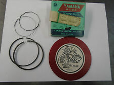 YAMAHA PISTON RINGS   DT2 / DT3    3RD SIZE OVER   N.O.S. PART #311-11610-30