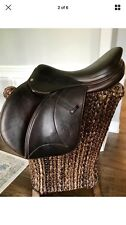 "Gorgeous Full buffalo Voltaire 17.5"" Palm Beach Saddle PRO panels 1A flap"