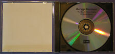 George Harrison The Dark Horse Years' Radio Show Promo-Only Music & Interview CD