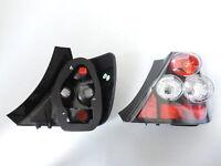 For 2002-2003 Honda Civic 3DR EP3 Si K20 Hatchback JDM Black Tail Lights Lamp