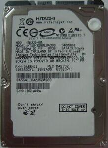 "HTS543280L9A300 Hitachi 80GB SATA 2.5"" 9.5MM Hard Drive Tested Our Drives Work"