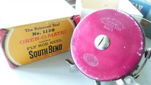 SOUTH BEND BAIT  OREN-O-MATIC NO. 1130 MODEL C FLY REEL WITH BOX FREE STRIPPING