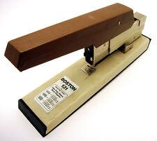 Vtg Boston 131 Heavy Duty Commercial Stapler 100 Sheet Capacity Operable