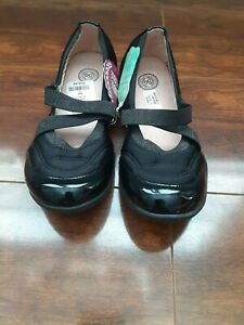 New ListingSo Authentic American Heritage Youth Girls Sz 3 Med Steffieblack Black *New*
