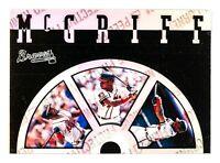 Fred McGriff #3B of 8 (1995 Leaf ) Slideshow, Atlanta Braves