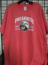2016 PREAKNESS 141 - MAY 21 - PIMLICO - BALTIMORE  PEACH - LARGE LOGO SHIRT