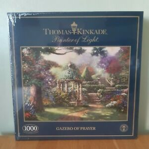 Gibsons 1000 Piece Jigsaw Puzzle Gazebo Of Prayer Thomas Kinkade New And Sealed