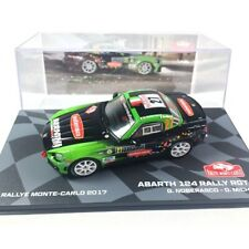 Abarth 124 Rally RGT Noberasco Rally Montecarlo 2017 1:43 Ixo Altaya Diecast