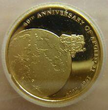 2009 Cook Islands Gold Proof $10 Apollo 11 ICG PR69 DCAM!