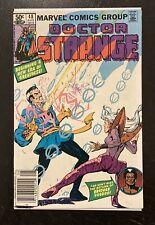DOCTOR STRANGE#48 Newsstand Brother Voodoo 1981 MARVEL BRONZE AGE COMICS. L@@K