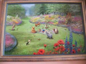"Peter Ellenshaw Disney Giclee ""Summer - A Grand Afternoon"" Giclee  #164/200"