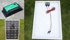 60W Mouse over image zoom Mono Solar Panel Charge-Kit-Generator-Battery