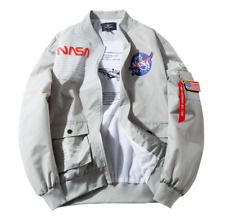 Pilot Jacket US NASA Male Astronaut Jacket Men and Women Air Force Jacket MA1