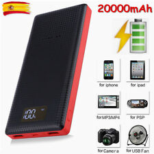 20000mAh Externa Batería Cargador Dual USB Power Bank Para Teléfono Smartphone