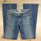 Paige Laurel Canyon Boot Cut Flower Women's Jeans Size 30 NWOT Fit W31 (T7)