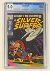 SILVER SURFER #4 Marvel Comics 1969 CGC 5.0 THOR & LOKI Appearance