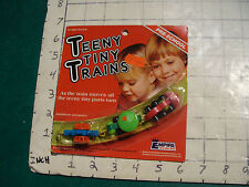 MOC empire TEENY TINY TRAINS 1977 3 part train SEALED #2