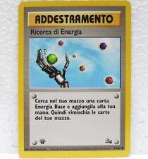 POKEMON set FOSSIL 1a edizione - RICERCA DI ENERGIA - 59/62 ITALIANO-MINT/NEAR M