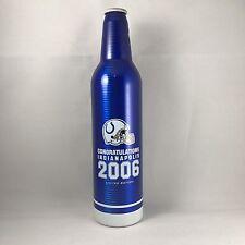 2006 Indianapolis Colts Super Bowl Champs Bud Light Aluminum Empty Bottle