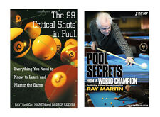 New Pool Book and Instructional Billiards DVD Set - Free Shipping