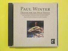 Prayer for the Wild Things by Paul Winter (Sax) New Age Easy CD