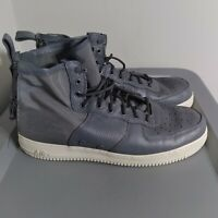 Nike SF Air Force 1 Mid Men's Size 15 Shoes Gray Basketball Athletic Sneakers