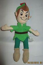 "Disney Store Peter Pan  Mini Beanbag Plush 8"""