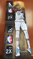 14/15 Preferred Kevin Durant Nba Logoman Adidas Patch Tag #1/1 Wow Sick 1/1 Book