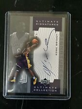 2002 Ultimate Collection Kobe Bryant Ultimate Signatures 1st Ballot Hall of Fame