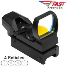 Red Dot Sight Reflex Holographic Scope Tactical Optics 20mm Rails D4B - USA