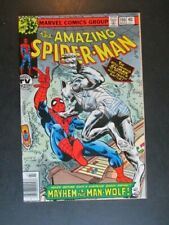 Amazing Spider Man 190 Man-Wolf Cover and Appearance