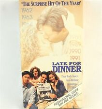 Late For Dinner VHS Movie Promo Screener Copy