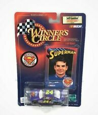 1999 Jeff Gordon # 24 Superman Racing NASCAR 1:64 Die-cast Car Winner Circle